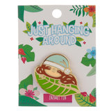 Luiaard Emaille Button / Pin_