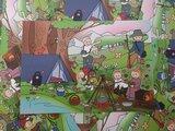 Natuurkindjes - Ansichtkaart Wendytekent