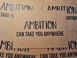 Ambition can take you anywhere Ansichtkaart Beezonder_