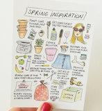 Spring Inspiration Lente Inspiratie Ansichtkaart_