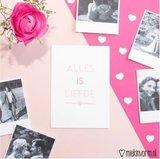 Alles is liefde - Ansichtkaart_