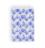 Oud-Hollands Design Blauw/Wit Papieren Zakjes 10 stuks_