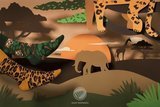 El Leopardo Low Luipaard Enkelsokken_