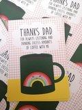 Thanks dad - Ansichtkaart_