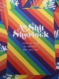 No Shit Sherlock, love is love, no matter who you are - Ansichtkaart_