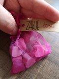 Zakje Liefde Setje van 10 Hartjes Zeepjes in Zakje_