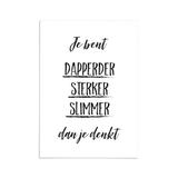 A6 kaart - Dapperder_