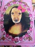 Kaart Hondje Mona Lisa_