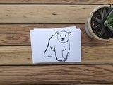 IJsbeer - Ansichtkaart_