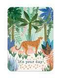 It's your day Cheetah - Ansichtkaart_
