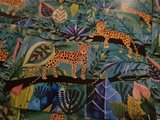 Luipaarden in de Jungle - Ansichtkaart vierkant_