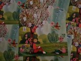 Vrouw onder Liefdesboom - Ansichtkaart vierkant_