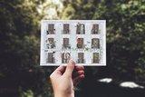 Lente 'Vier seizoenen' - Ansichtkaart