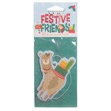 Feestelijke Kerstmis Alpaca Appel Kaneel Luchtverfrisser_