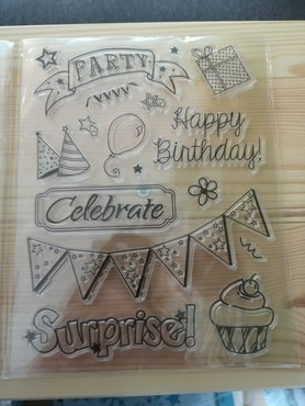 Clear Stamps 'Feest'