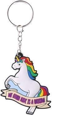 Eenhoorn Sleutelhanger 'My Other Ride Is A Unicorn'