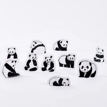 Panda Stickers in Doosje 45 stuks