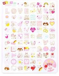 Love Kawaii Mini Stickers 2 Velletjes