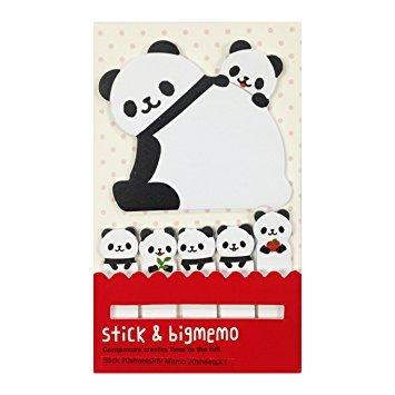 Panda Stick & Big Memo