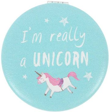 Unicorn Eenhoorn Compact Mirror Zakspiegel Spiegeltje