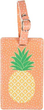 Tropical Pineapple Ananas Koffer Label