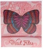 Roze Vlinder Nagelvijltjes Boekje