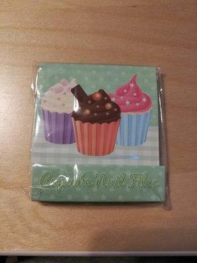 Groene Cupcake Nagelvijltjes Boekje