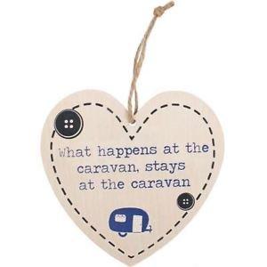 'What happens at the caravan, stays at the caravan' Hart Bordje