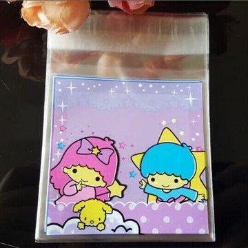 Jongen en Meisje Kawaii Plastic Zakjes 10x10CM - 10 stuks