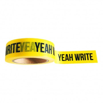 'Yeah write' Washi Tape - 10M