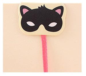 Kattenmasker Boekenlegger