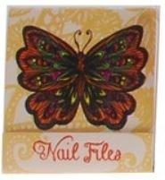 Gele Vlinder Nagelvijltjes Boekje