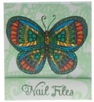 Groene Vlinder Nagelvijltjes Boekje