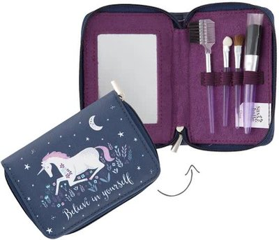 Starlight Unicorn Eenhoorn Cosmetic Brush Set Make-Up Kwasten