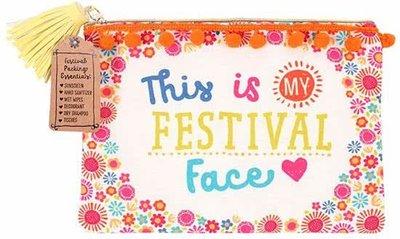 Festival Face Make-Up Tasje Boho Hip