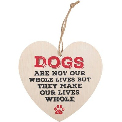 'Dogs make our lives whole' Hart Bordje