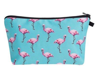 Flamingo Patroon Make-up Tasje