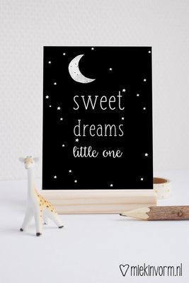 'Sweet dreams little one' Ansichtkaart