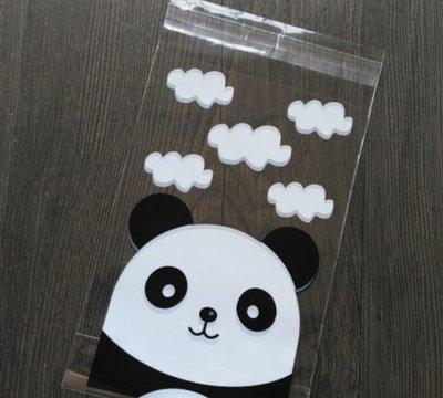 Panda Plastic Zakjes 10x15cm - 10 stuks