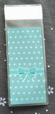 Blauw Jongen Boy Plastic Zakjes 5x10cm - 10 stuks
