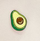 Avocado Broche Pin