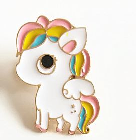 Eenhoorn Kawaii Broche Pin