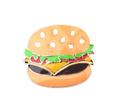 Hamburger Broche Pin