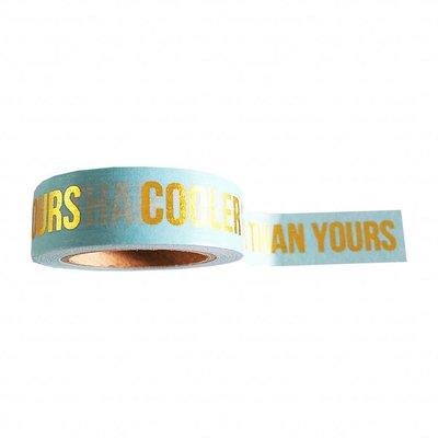 'Cooler ideas' Washi Tape - 10M