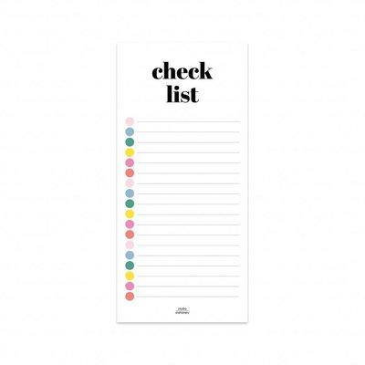 Checklist - Notitieblok