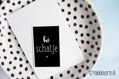 Hi schatje - Minikaartje