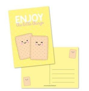Enjoy the little things - Ansichtkaart