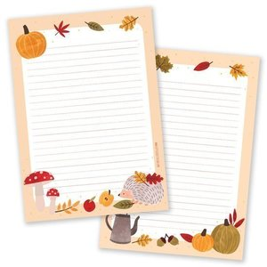 Hallo Herfst - A5 Notepad