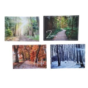 Seizoenen Bos - Set van 4 Fotokaarten
