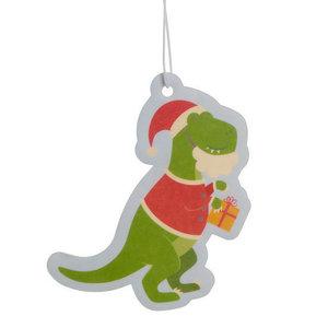 Feestelijke Kerstmis Dinosaurus - Luchtverfrisser